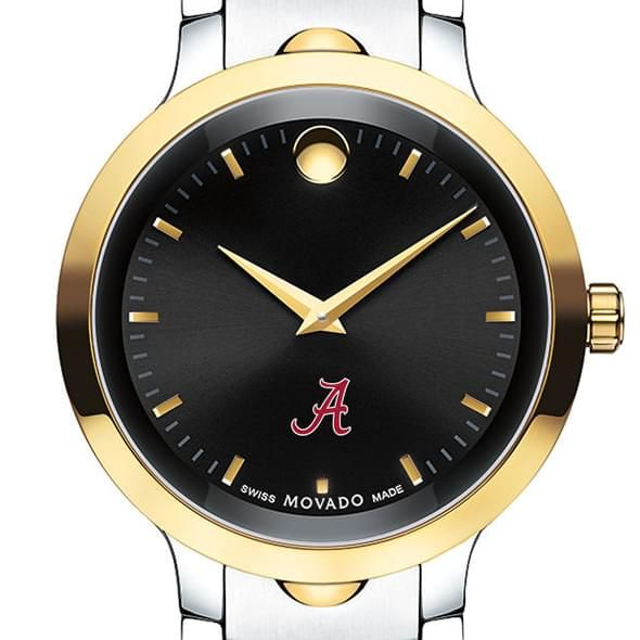University of Alabama Men's Movado Luno Sport Two-Tone