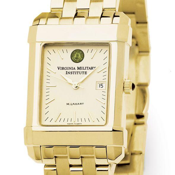 VMI Men's Gold Quad Watch with Bracelet