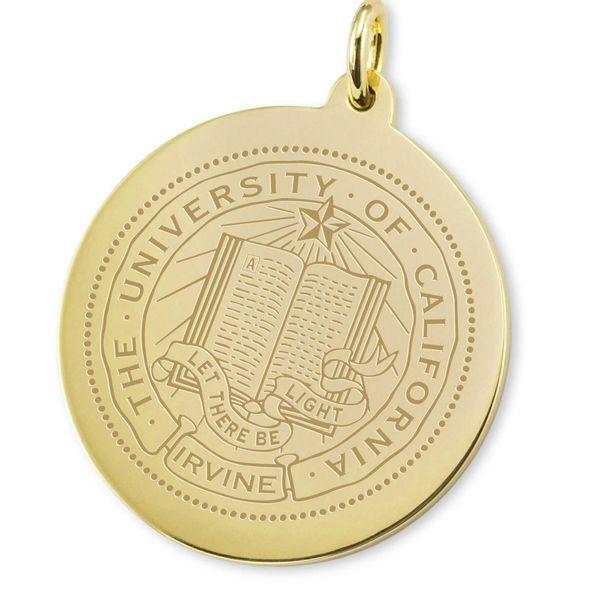 UC Irvine 14K Gold Charm - Image 2