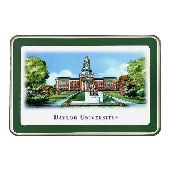 Baylor Eglomise Paperweight
