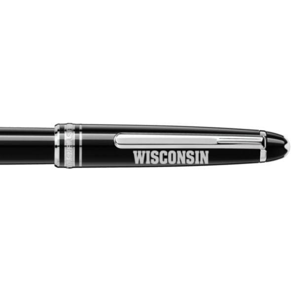 Wisconsin Montblanc Meisterstück Classique Rollerball Pen in Platinum - Image 2