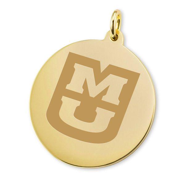 University of Missouri 18K Gold Charm - Image 2