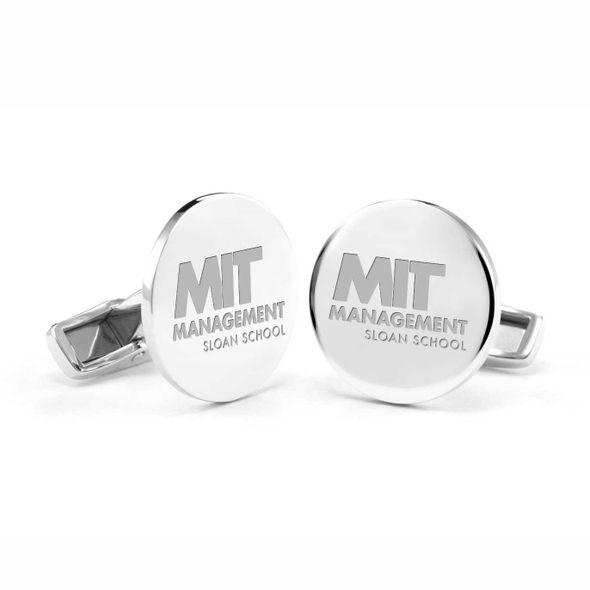MIT Sloan Cufflinks in Sterling Silver - Image 1