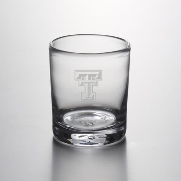 Texas Tech Double Old Fashioned Glass by Simon Pearce