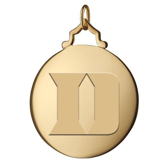 Duke Monica Rich Kosann Round Charm in Gold with Stone - Image 2