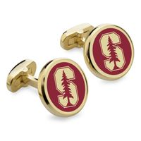 Stanford University Enamel Cufflinks