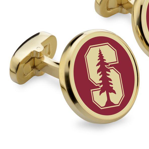 Stanford University Enamel Cufflinks - Image 2