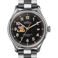 LSU Shinola Watch, The Vinton 38mm Black Dial