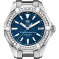 Columbia Business Women's TAG Heuer 35mm Steel Aquaracer with Blue Dial - Image 1
