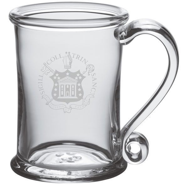Trinity College Glass Tankard by Simon Pearce