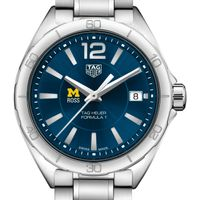 Michigan Ross Women's TAG Heuer Formula 1 with Blue Dial