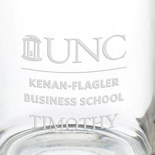 UNC Kenan–Flagler Business School 13 oz Glass Coffee Mug - Image 3