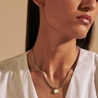Auburn Classic Chain Necklace by John Hardy with 18K Gold