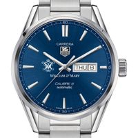 College of William & Mary Men's TAG Heuer Carrera with Day-Date