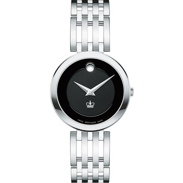 Columbia University Women's Movado Esparanza Stainless Steel Museum with Bracelet - Image 2