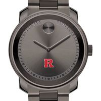 Rutgers University Men's Movado BOLD Gunmetal Grey