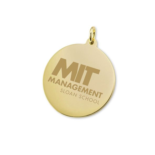 MIT Sloan 18K Gold Charm - Image 1