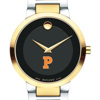 Princeton University Men's Movado Two-Tone Modern Classic Museum with Bracelet