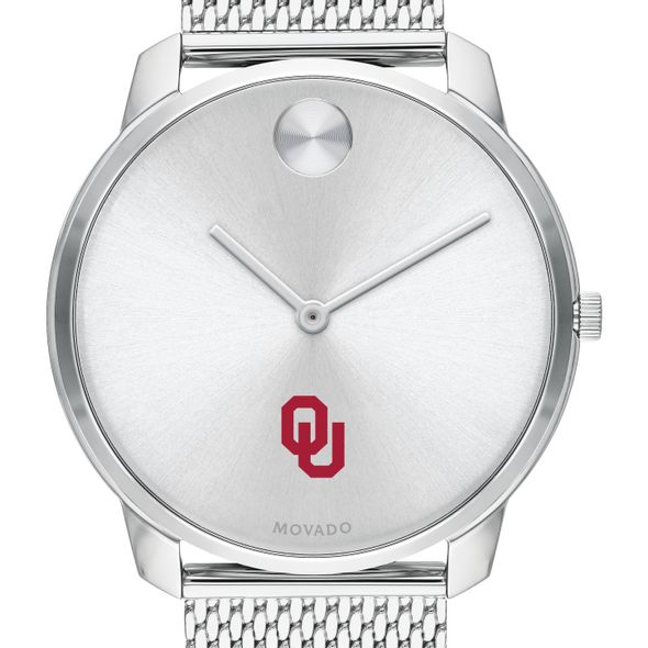 University of Oklahoma Men's Movado Stainless Bold 42