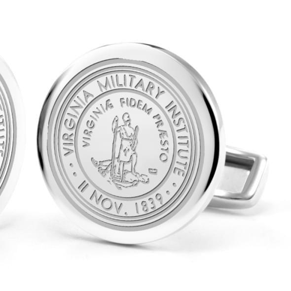 Virginia Military Institute Cufflinks in Sterling Silver - Image 2