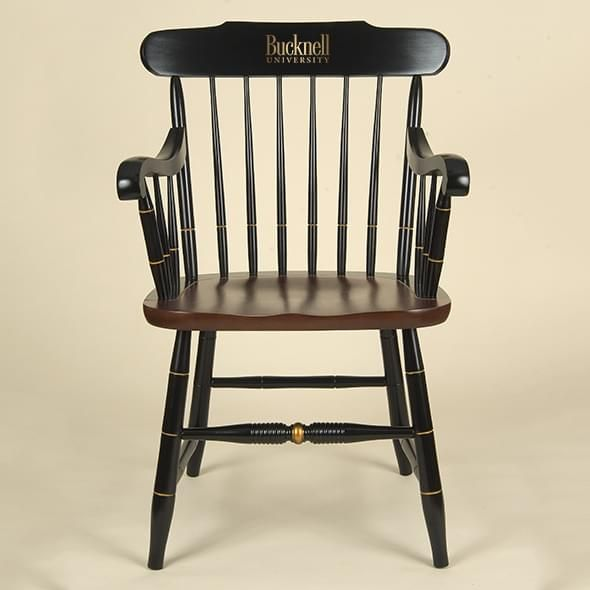 Bucknell University Captain's Chair by Hitchcock