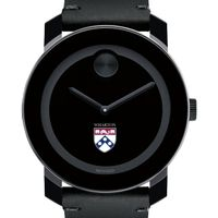 Wharton Men's Movado BOLD with Leather Strap