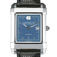 UNC Men's Blue Quad Watch with Leather Strap