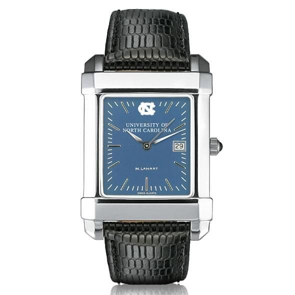 UNC Men's Blue Quad Watch with Leather Strap - Image 2
