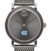 University of North Carolina Men's Movado BOLD Gunmetal Grey with Mesh Bracelet