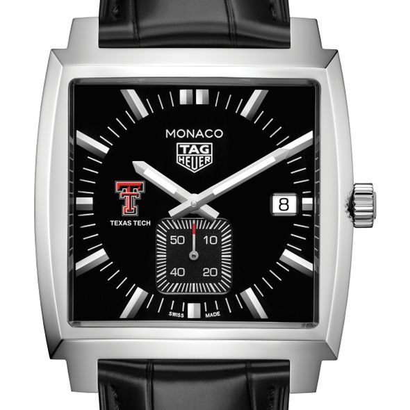 Texas Tech TAG Heuer Monaco with Quartz Movement for Men