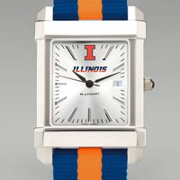 University of Illinois Collegiate Watch with NATO Strap for Men