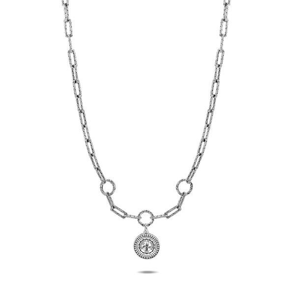 UVA Amulet Necklace by John Hardy with Long Links and Three Connectors - Image 2