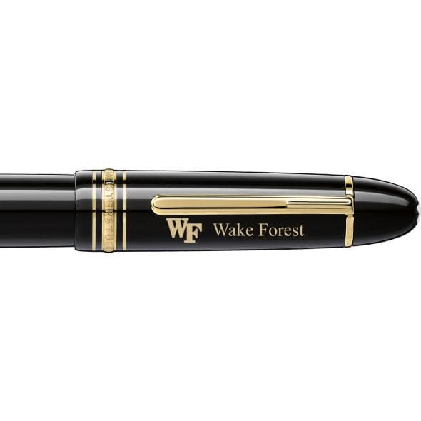 Wake Forest Montblanc Meisterstück 149 Fountain Pen in Gold - Image 2