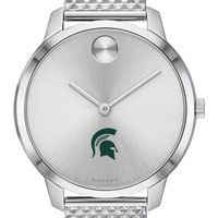 Michigan State University Women's Movado Stainless Bold 35