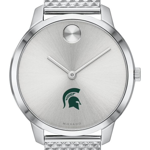Michigan State University Women's Movado Stainless Bold 35 - Image 1