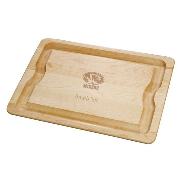 University of Missouri Maple Cutting Board