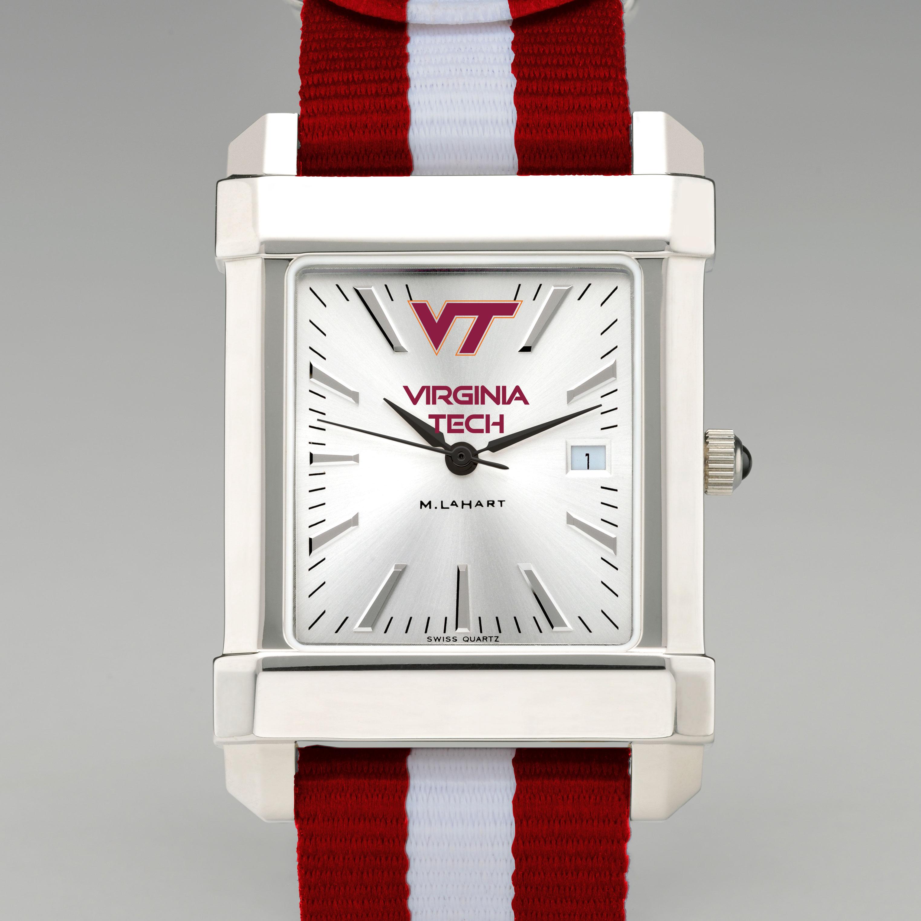 Virginia Tech Collegiate Watch with NATO Strap for Men