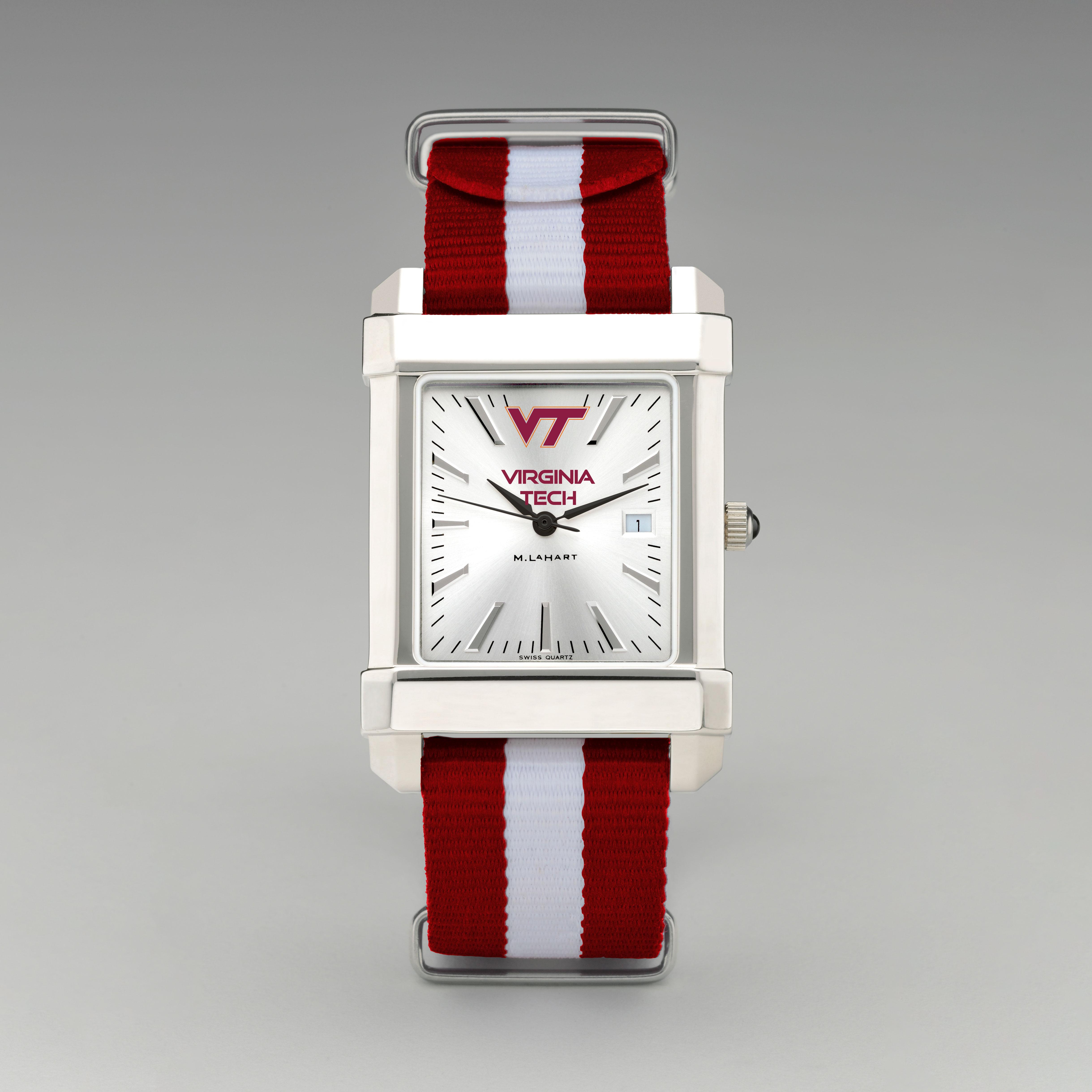 Virginia Tech Collegiate Watch with NATO Strap for Men - Image 2