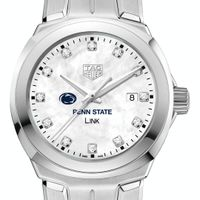 Penn State University TAG Heuer Diamond Dial LINK for Women