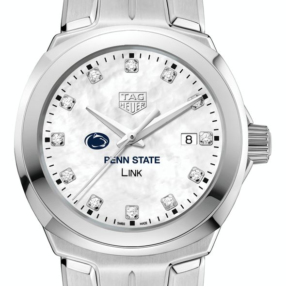 Penn State University TAG Heuer Diamond Dial LINK for Women