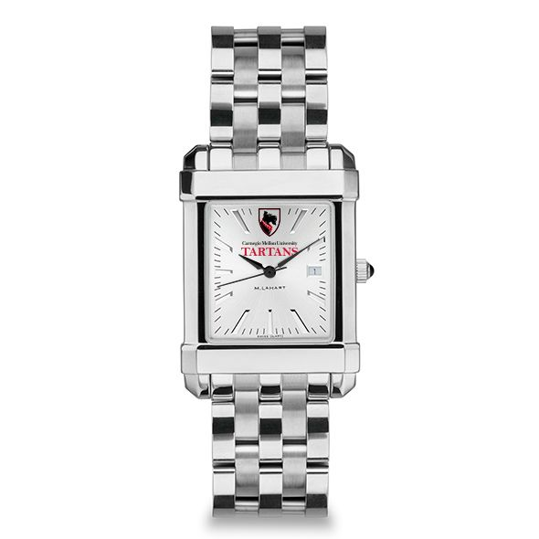 Carnegie Mellon University Men's Collegiate Watch w/ Bracelet - Image 2