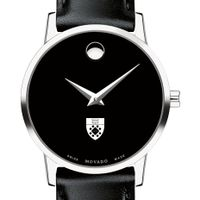 Yale SOM Women's Movado Museum with Leather Strap