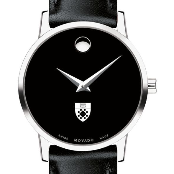 Yale SOM Women's Movado Museum with Leather Strap - Image 1