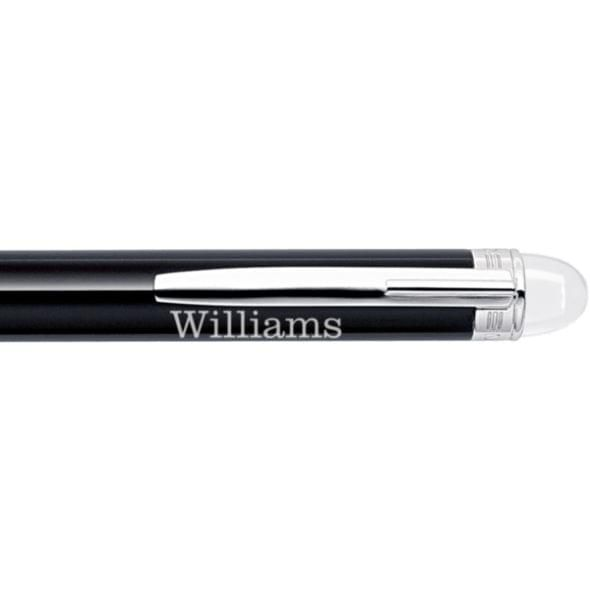 Williams College Montblanc StarWalker Ballpoint Pen in Platinum - Image 2