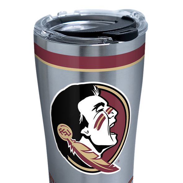 FSU 20 oz. Stainless Steel Tervis Tumblers with Hammer Lids - Set of 2 - Image 2