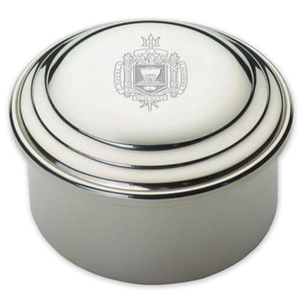 Naval Academy Pewter Keepsake Box