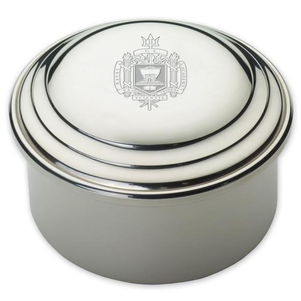 Naval Academy Pewter Keepsake Box - Image 2