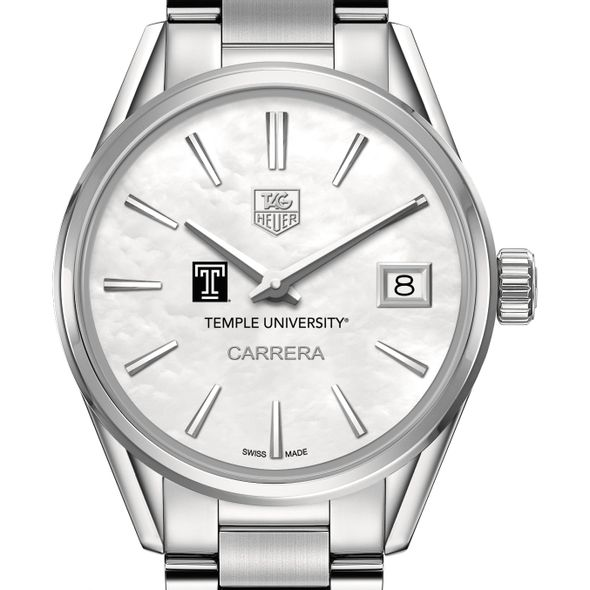 Temple Women's TAG Heuer Steel Carrera with MOP Dial