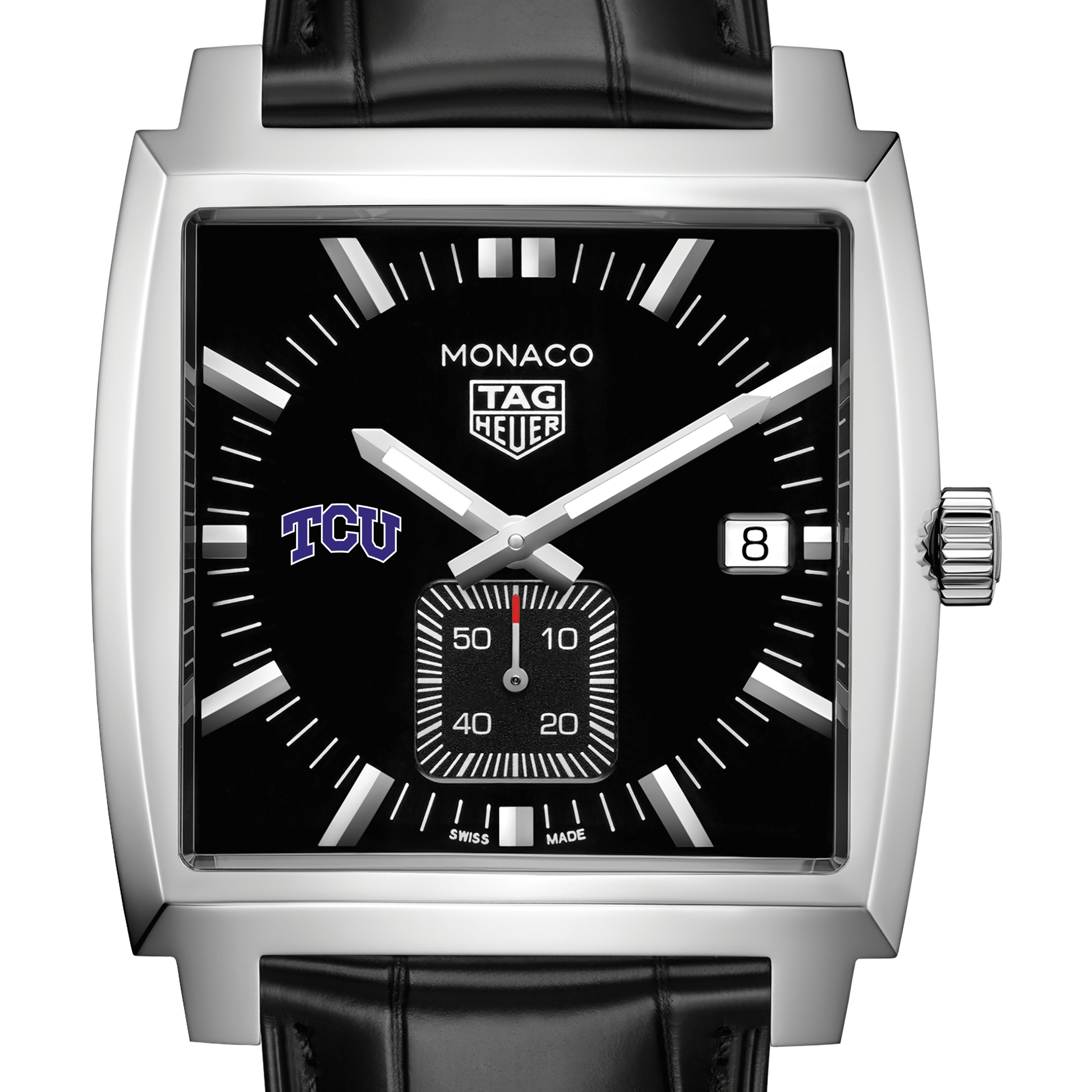 Texas Christian University TAG Heuer Monaco with Quartz Movement for Men