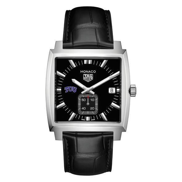Texas Christian University TAG Heuer Monaco with Quartz Movement for Men - Image 2